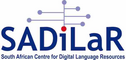 South African Center for Digital Language Resources